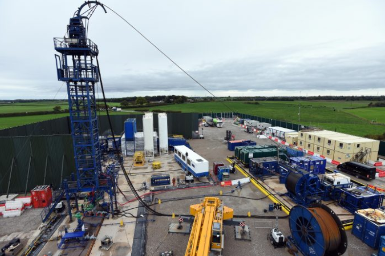 First evidence of potential recovery of shale gas in the UK has been