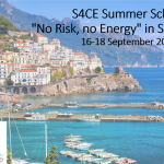 "Summer School ""No risk No Energy"" Sept 2019 – Agenda available!"