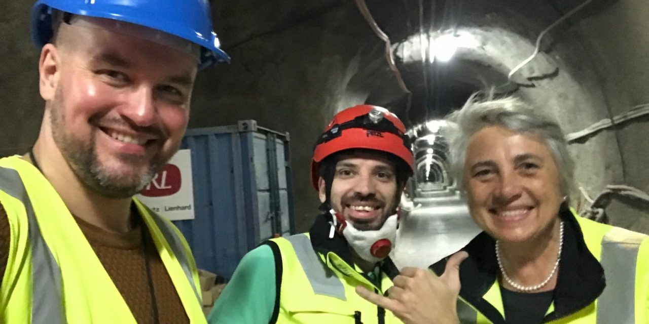 S4CE partner UEF visited the Underground Rock Laboratory in Mont Terri