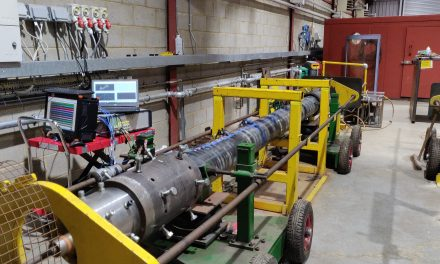 TWI conducts resonance fatigue test to detects cracks in the well