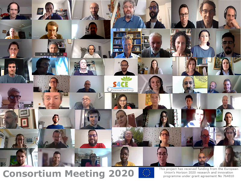A successful remote consortium meeting with more than 60 participants