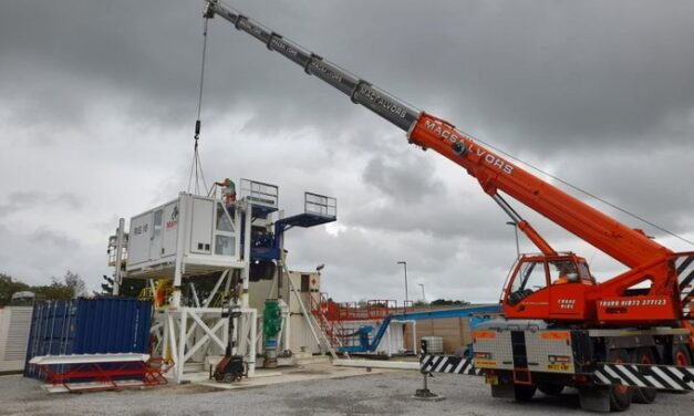 Geothermal energy site in Cornwall active again