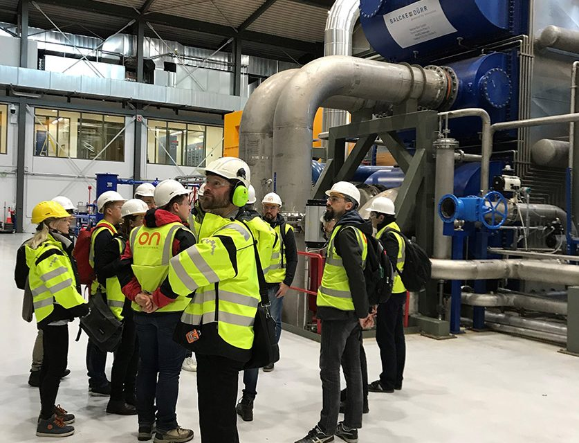 S4CE site visit to the CarbFix injection site at Hellisheidi in Iceland