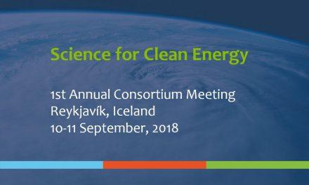 1st Annual Consortium Meeting, September 10-11, 2018 – Reykjavík Iceland