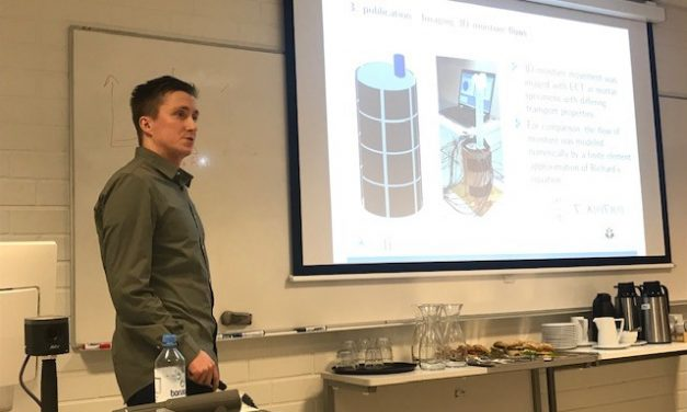 Concrete quality measurement workshop in UEF