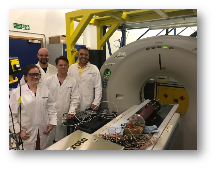 Intriguing experiments at Imperial College London with UEF and NC State researchers