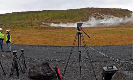 First MIRICO system deployment for fugitive gas emission measurement at Hellisheiði
