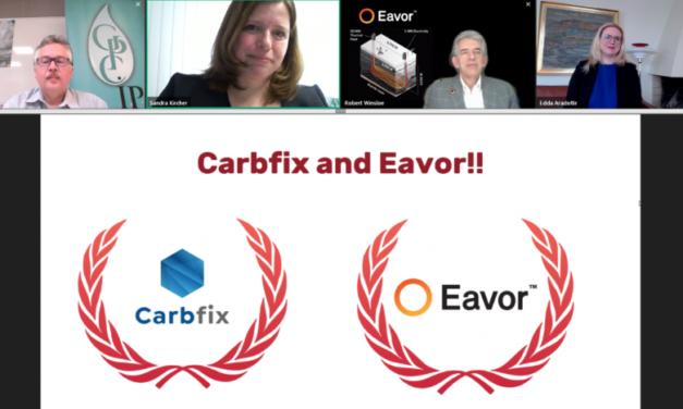 Carbfix wins the European Geothermal Innovation Award 2020