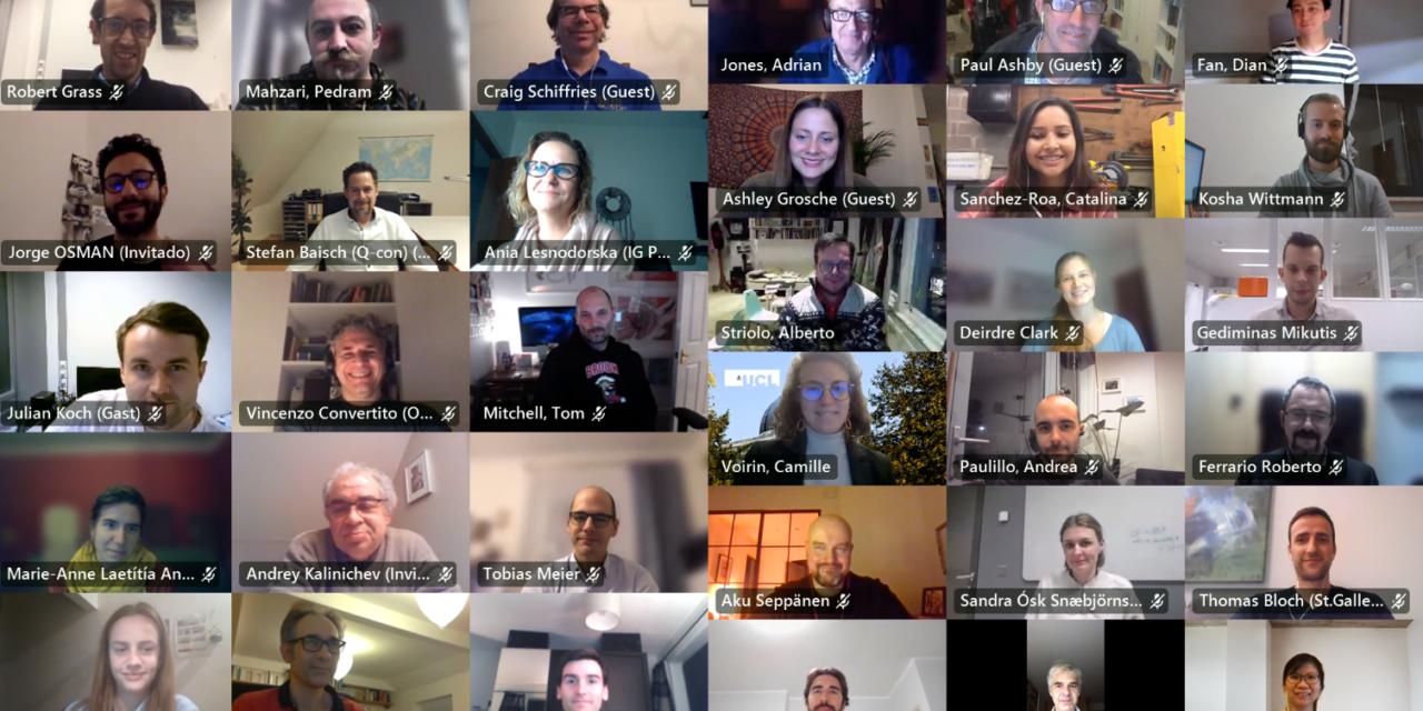 S4CE partners met online for the Final Consortium Meeting